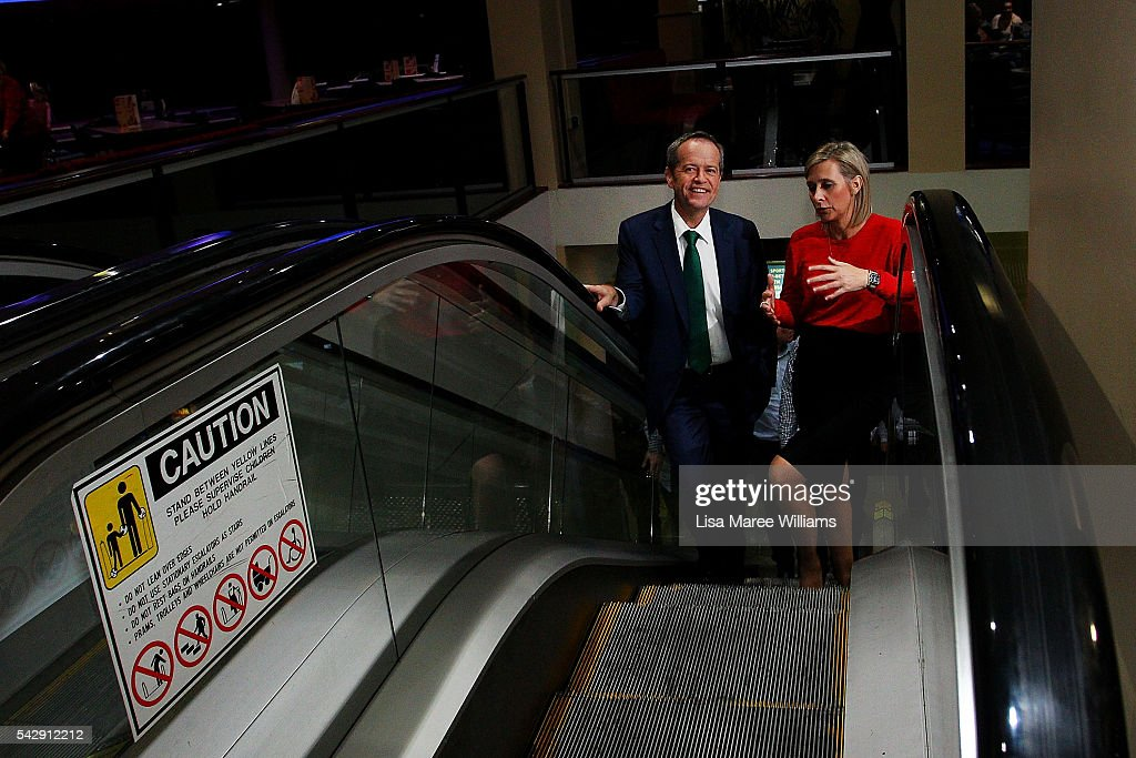Opposition Leader, Australian Labor Party <a gi-track='captionPersonalityLinkClicked' href=/galleries/search?phrase=Bill+Shorten&family=editorial&specificpeople=606712 ng-click='$event.stopPropagation()'>Bill Shorten</a> and Susan Lamb visit the Caboolture RSL on June 25, 2016 in Caboolture, Australia. <a gi-track='captionPersonalityLinkClicked' href=/galleries/search?phrase=Bill+Shorten&family=editorial&specificpeople=606712 ng-click='$event.stopPropagation()'>Bill Shorten</a> launched his positive policies for Queensland including a overhaul of the visa system and continues to campaign heavily on Medicare, promising to make sure it isn't privatised if the Labor Party wins the Federal Election on July 2.