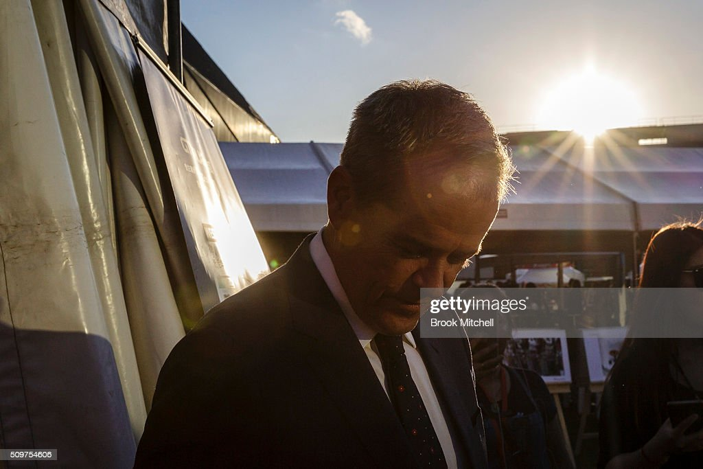 Opposition leader Bill Shorten at the Chinese New Year Lantern Festival at Tumbalong Park on February 12, 2016 in Sydney, Australia. The lighting of lanterns is a centuries old tradition that marks the end of the Chinese New Year Festival.