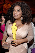 Oprah attends the 87th Annual Academy Awards Governors Ball at Hollywood Highland Center on February 22 2015 in Hollywood California