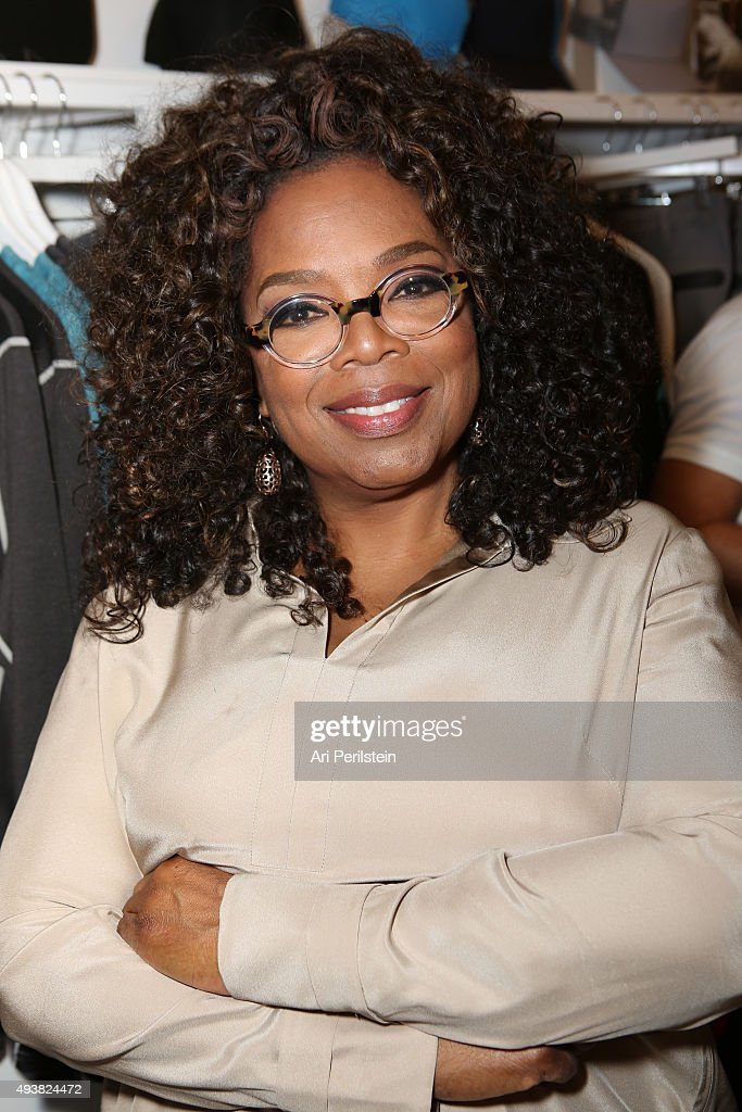 Oprah Winfery attends the launch of Laird Apparel by Laird Hamilton at Ron Robinson on October 22, 2015 in Santa Monica, California.