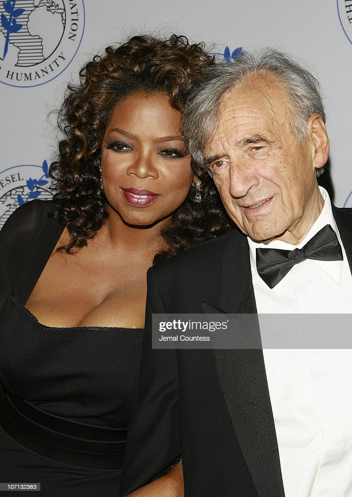 Oprah Winfrey and Elie Wiesel during Oprah Winfrey Honored by the Elie Wiesel Foundation with Humanitarian Award - May 20, 2007 at Waldorf Astoria in New York City, New York, United States.