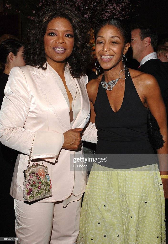 Oprah Winfrey and Robi Reed during 'Their Eyes Were Watching God' Los Angeles Premiere After Party at The Hollywood Roosevelt Hotel in Hollywood...