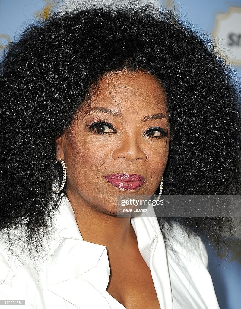 Oprah Winfrey arrives at the 6th Annual ESSENCE Black Women In Hollywood Luncheon at Beverly Hills Hotel on February 21, 2013 in Beverly Hills, California.