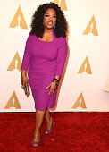 Oprah Winfrey arrives at the 87th Academy Awards Nominee Luncheon at The Beverly Hilton Hotel on February 2 2015 in Beverly Hills California