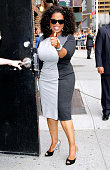 Oprah Winfrey arrives for the 'Late Show with David Letterman' at Ed Sullivan Theater on July 31 2013 in New York City