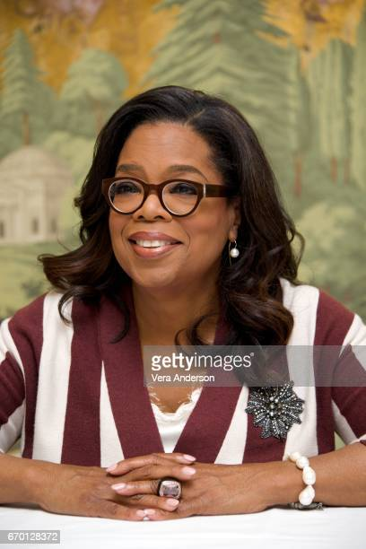 Oprah Winfrey at 'The Immortal Life of Henrietta Lacks' Press Conference at the London Hotel on April 18 2017 in New York City