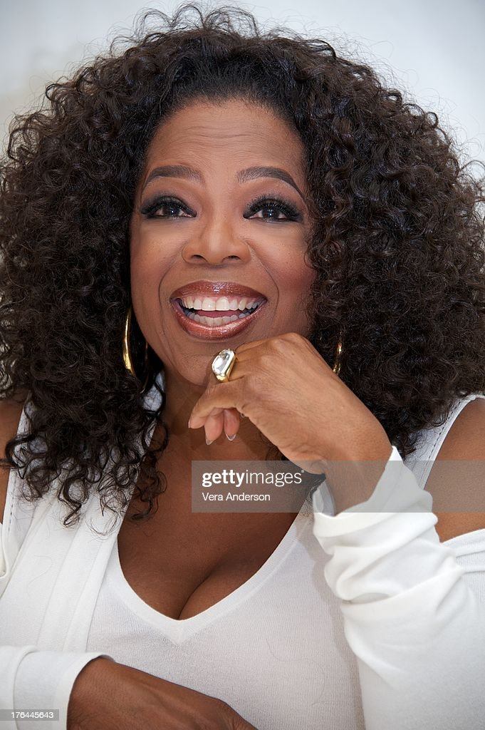 Oprah Winfrey at the 'Lee Daniels' The Butler' Press Conference at the Four Seasons Hotel on August 12, 2013 in Beverly Hills, California.