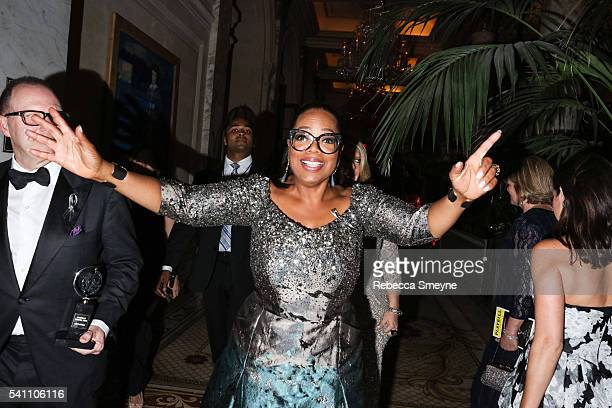 Oprah Winfrey at the official Tony Awards afterparty at the Plaza Hotel in New York NY on June 12 2016