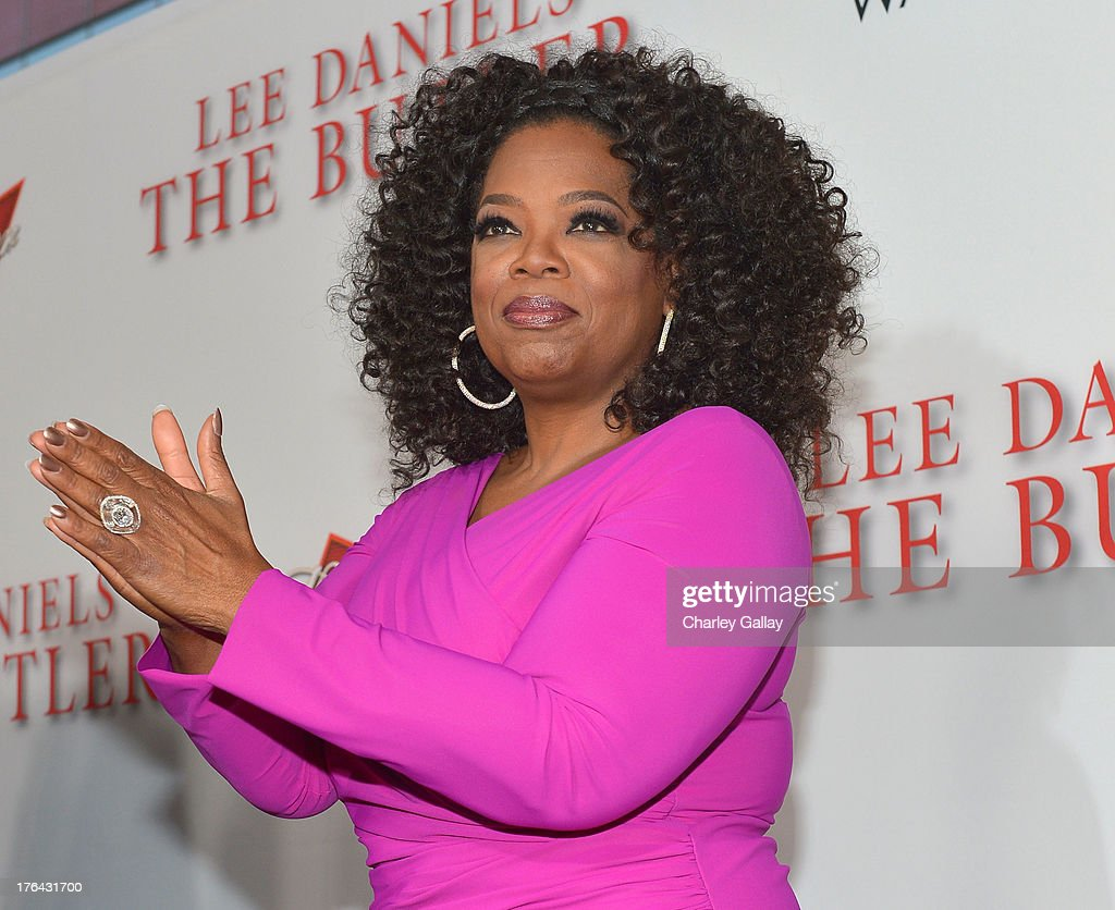 Oprah Winfrey attends LEE DANIELS' THE BUTLER Los Angeles premiere hosted by TWC Budweiser and FIJI Water Purity Vodka and Stack Wines held at Regal...