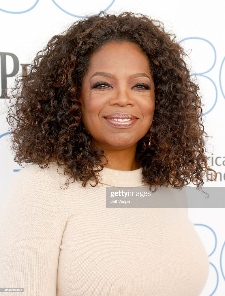 Oprah Winfrey attends the 2015 Film Independent Spirit Awards at Santa Monica Beach on February 21, 2015 in Santa Monica, California.