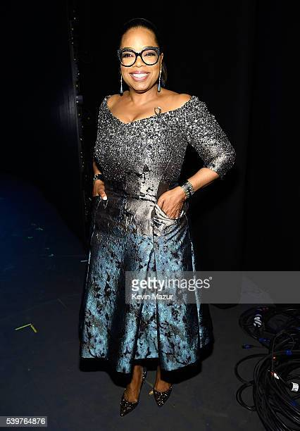 Oprah Winfrey attends the 70th Annual Tony Awards at The Beacon Theatre on June 12 2016 in New York City