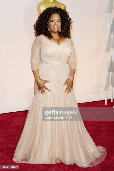 Oprah Winfrey attends the 87th Annual Academy Awards at Hollywood Highland Center on February 22 2015 in Hollywood California