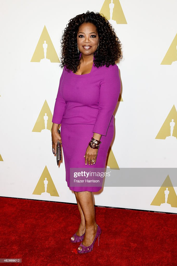 Oprah Winfrey attends the 87th Annual Academy Awards Nominee Luncheon at The Beverly Hilton Hotel on February 2, 2015 in Beverly Hills, California.
