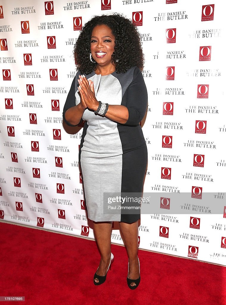 Oprah Winfrey attends the Lee Daniels' 'The Butler' Special Screening at Hearst Tower on July 31, 2013 in New York City.