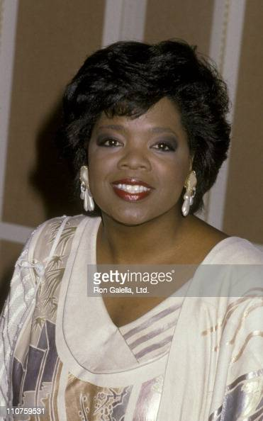 Oprah Winfrey attends the nominees luncheon for 58th Annual Academy Awards on March 13 1986 at the Beverly Hilton Hotel in Beverly Hills California