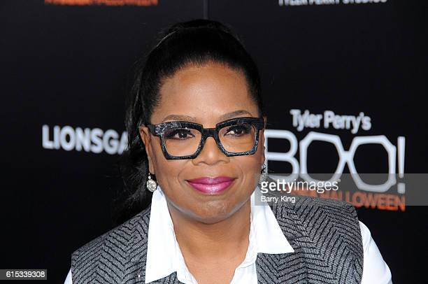 Oprah Winfrey attends the premiere of Lionsgate's' 'Boo A Madea Halloween' at ArcLight Cinemas Cinerama Dome on October 17 2016 in Hollywood...