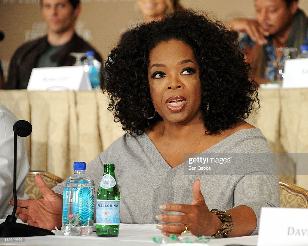 Oprah Winfrey attends the press conference for The Weinstein Company's LEE DANIELS' THE BUTLER at Waldorf Astoria Hotel on August 5, 2013 in New York City.