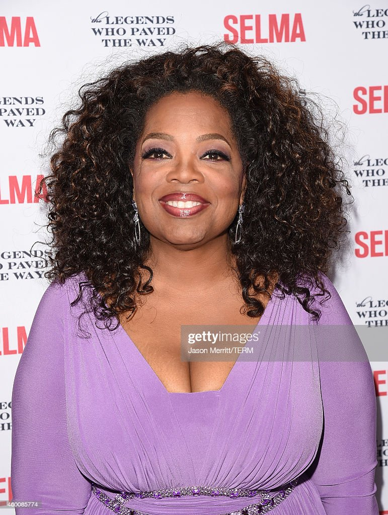 Oprah Winfrey attends the 'Selma' and the Legends Who Paved the Way Gala at Bacara Resort on December 6 2014 in Goleta California