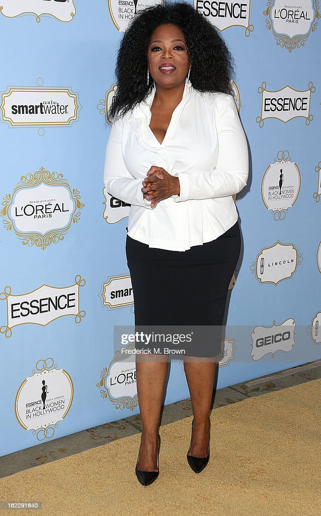 <a gi-track='captionPersonalityLinkClicked' href=/galleries/search?phrase=Oprah+Winfrey&family=editorial&specificpeople=171750 ng-click='$event.stopPropagation()'>Oprah Winfrey</a> attends the Sixth Annual ESSENCE Black Women In Hollywood Awards Luncheon at Beverly Hills Hotel on February 21, 2013 in Beverly Hills, California.