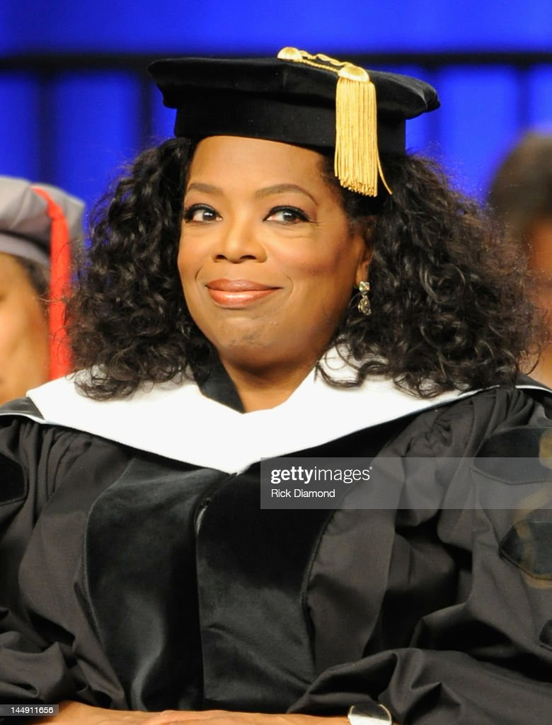 <a gi-track='captionPersonalityLinkClicked' href=/galleries/search?phrase=Oprah+Winfrey&family=editorial&specificpeople=171750 ng-click='$event.stopPropagation()'>Oprah Winfrey</a> attends the Spelman College Commencement at Georgia International Convention Center on May 20, 2012 in College Park, Georgia.