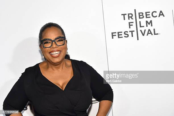Oprah Winfrey attends the Tribeca Tune In Greenleaf at BMCC John Zuccotti Theater on April 20 2016 in New York City
