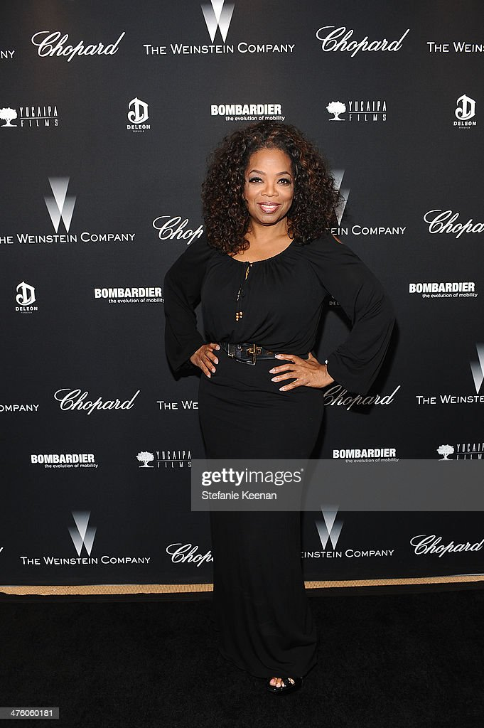 <a gi-track='captionPersonalityLinkClicked' href=/galleries/search?phrase=Oprah+Winfrey&family=editorial&specificpeople=171750 ng-click='$event.stopPropagation()'>Oprah Winfrey</a> attends The Weinstein Company Academy Award party hosted by Chopard on March 1, 2014 in Beverly Hills, California.
