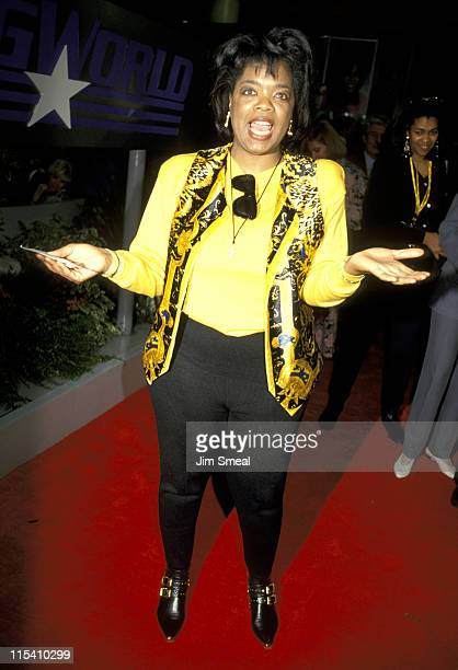 Oprah Winfrey during NAPTE Convention January 27 1993 at Moscone Convention Center in San Francisco California United States