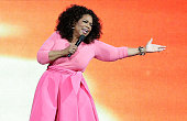 Oprah Winfrey on stage during her An Evening With Oprah tour on December 12 2015 in Sydney Australia