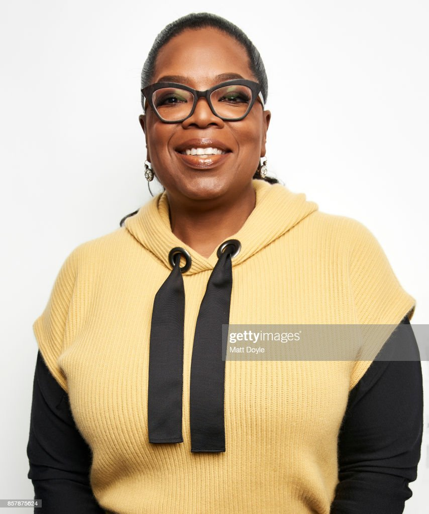 Oprah Winfrey poses for a portrait at the Tribeca TV festival at Cinepolis Chelsea on September 22, 2017.