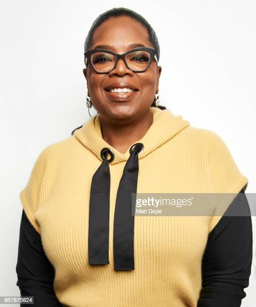 Oprah Winfrey poses for a portrait at the Tribeca TV festival at Cinepolis Chelsea on September 22 2017