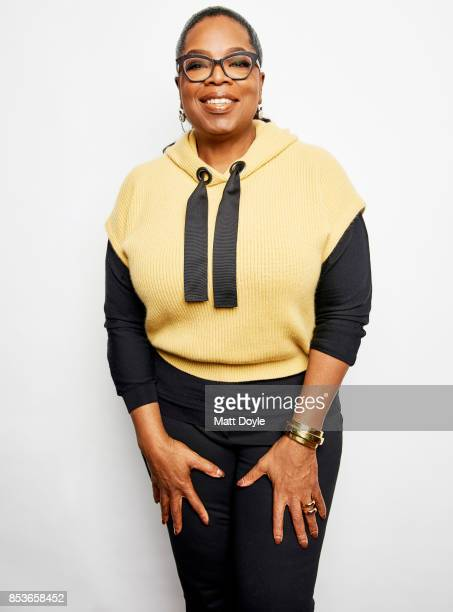 Oprah Winfrey poses for a portraits at the Tribeca TV festival at Cinepolis Chelsea on September 22 2017