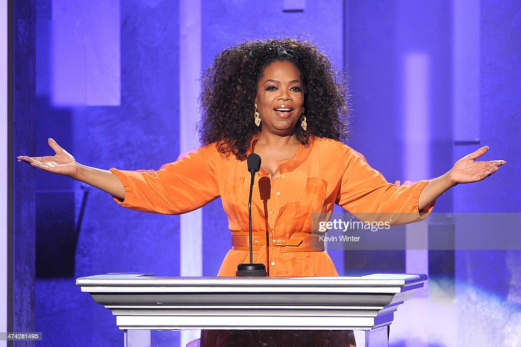 <a gi-track='captionPersonalityLinkClicked' href=/galleries/search?phrase=Oprah+Winfrey&family=editorial&specificpeople=171750 ng-click='$event.stopPropagation()'>Oprah Winfrey</a> speaks onstage during the 45th NAACP Image Awards presented by TV One at Pasadena Civic Auditorium on February 22, 2014 in Pasadena, California.