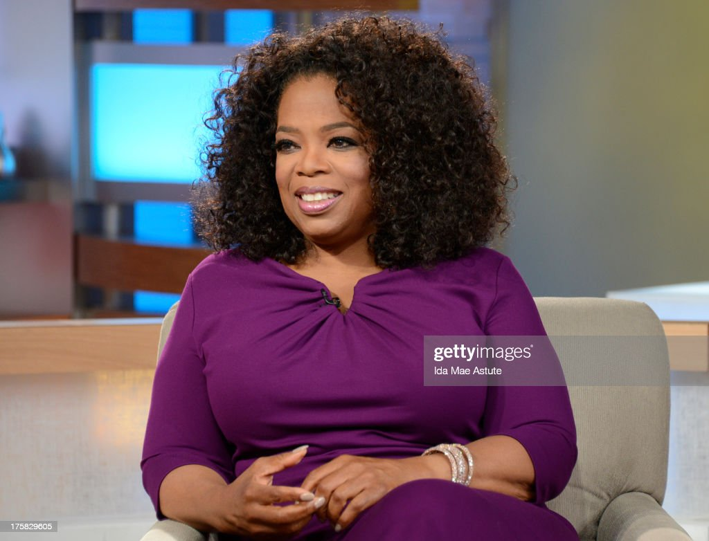 AMERICA - <a gi-track='captionPersonalityLinkClicked' href=/galleries/search?phrase=Oprah+Winfrey&family=editorial&specificpeople=171750 ng-click='$event.stopPropagation()'>Oprah Winfrey</a> visits GOOD MORNING AMERICA, 8/6/13, airing on the ABC Television Network. (Photo by Ida Mae Astute/ABC via Getty Images) OPRAH
