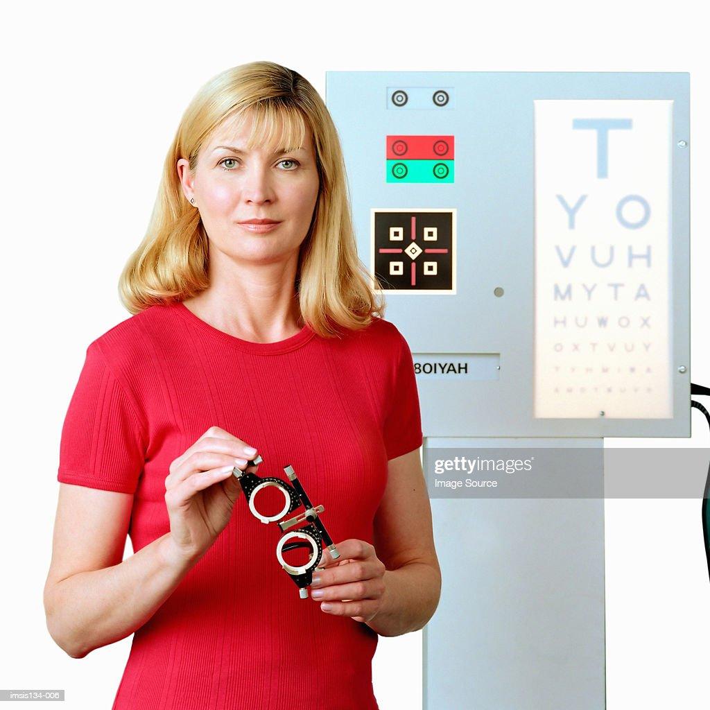 Optician : Stock Photo