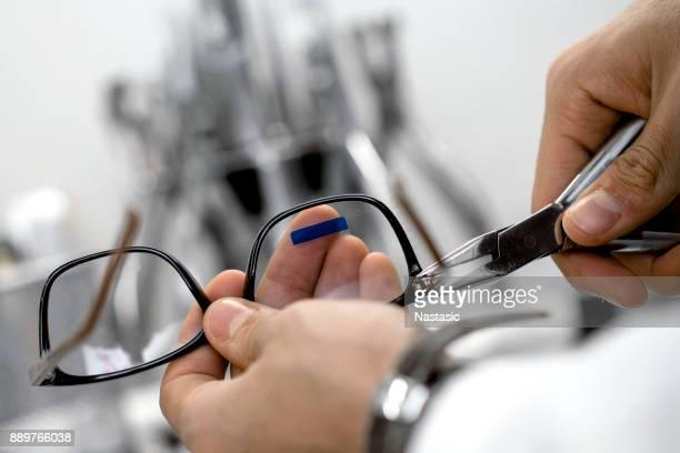 Réparations lunettes opticien