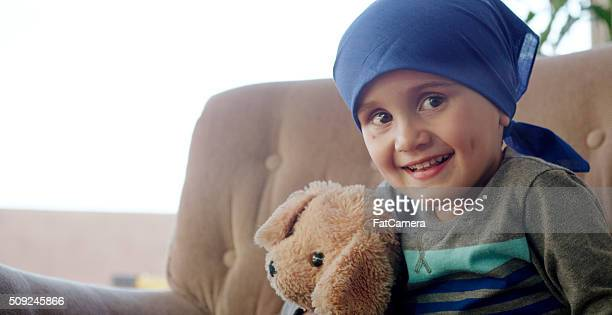 Optimistic Child with Cancer