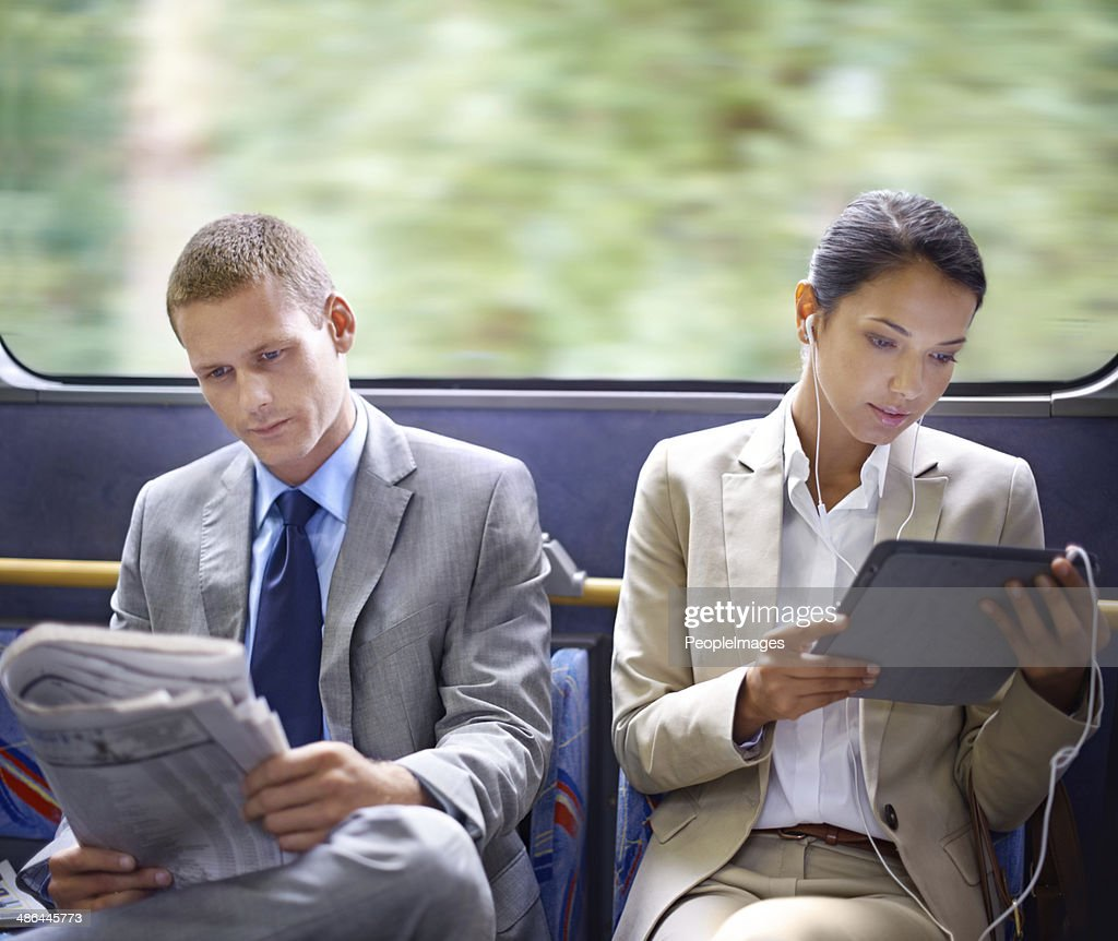 Optimizing their travel time wisely : Stock Photo