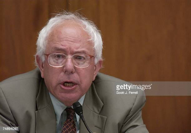 OPTIONSBernard Sanders IVt during the House Financial Services markup of HR3574 the Stock Option Accounting Reform Act that would block a Financial...