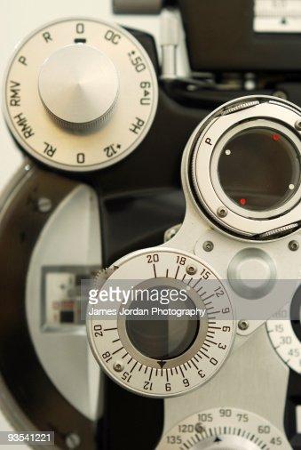 Optometric equipment : Stock Photo