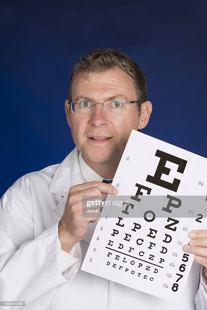 Optometrist : Stock Photo