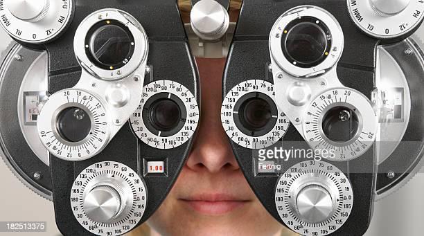 Optometry Untersuchung