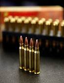 AR15 233 or 556 caliber ammunition is shown here at Barnes Bullets on March 5 2015 in Mona Utah The ATF is considering a controversial ban on some...