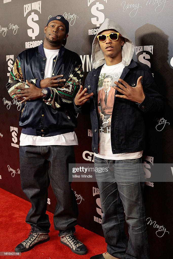 1500 or Nothin arrives at the Cash Money Records 4th annual pre-GRAMMY Awards party on February 9, 2013 in West Hollywood, California.