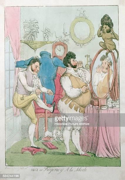 1812 or Regency a la Mode by William Heath