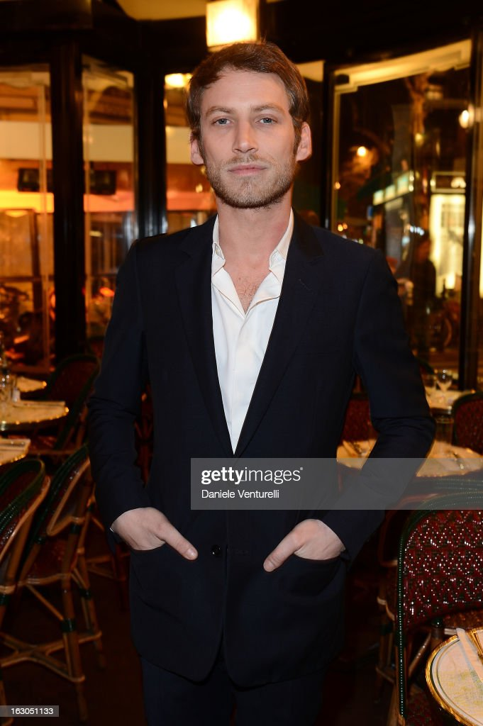 Ora Ito attends the Bulgari And Purple Magazine Party at Cafe de Flore on March 3, 2013 in Paris, France.