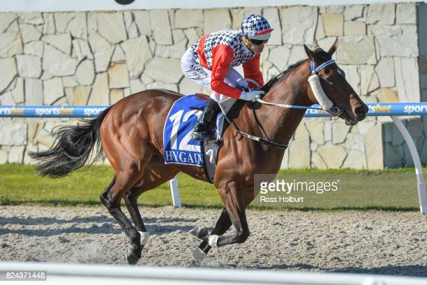 Oracabessa ridden by Noel Callow wins the Drouin Golf Country Club Maiden Plate at Racingcom Park Synthetic Racecourse on July 30 2017 in Pakenham...