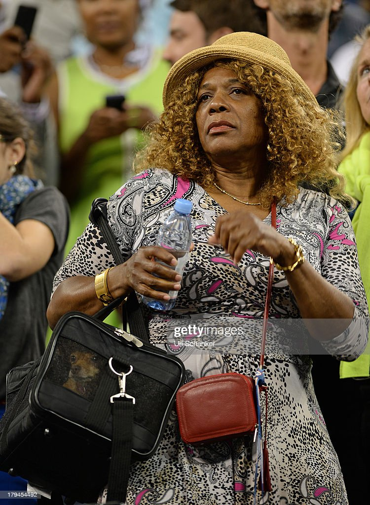 <a gi-track='captionPersonalityLinkClicked' href=/galleries/search?phrase=Oracene+Price&family=editorial&specificpeople=3103846 ng-click='$event.stopPropagation()'>Oracene Price</a> attends the 2013 US Open at USTA Billie Jean King National Tennis Center on September 3, 2013 in New York City.