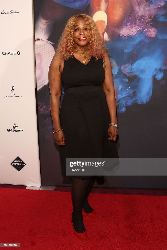 Oracene Price attends the 2015 Sports Illustrated Sportsperson Of The Year Ceremony at Pier Sixty at Chelsea Piers on December 15, 2015 in New York City.