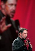 Oracle CEO Larry Ellison delivers a keynote address at the 2006 Oracle OpenWorld conference October 25 2006 in San Francisco The Annual Oracle...