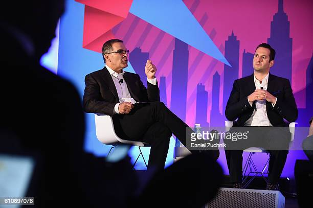 Oracle's Rob Holland and Heineken's Frank Amorese speak at the DataDriven Marketing on Facebook CPG Benchmarks That Are Changing the Game panel on...